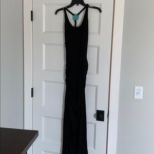 Sky Black Maxi Dress Size Xs